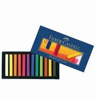 Faber Castell 128312 Soft Pastels set 12 kleuren set 12 kleuren