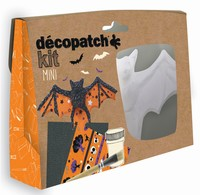 Decopatch complete set Mini Kit KIT019O Vleermuis ca.12cm