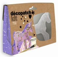 Decopatch complete set Mini Kit KIT010O Paard ca.13cm