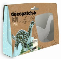 Decopatch complete set Mini Kit KIT011O Dinosaurus ca.14cm