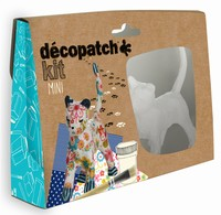 Decopatch complete set Mini Kit KIT012O Poes ca.11cm