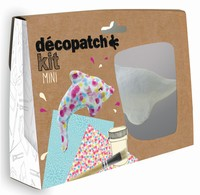 Decopatch complete set Mini Kit KIT016O Dolfijn ca.11cm