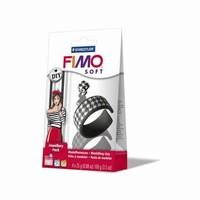Fimo soft DIY sieraden set 8025-05 Zwart -Wit
