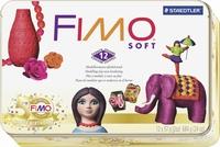 Fimo Soft Nostalgie set in metalen bewaarblik 8023-51P