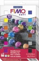Fimo Soft Colour Pack 8023-01 12 kleuren a 25gram