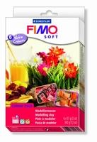 Fimo Soft Colour Pack 8023-03 6 warme kleuren