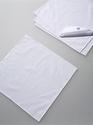 Katoenen popeline servet wit 38x38cm