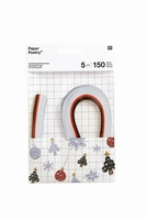 Paper Poetry 99000.63.35 Quilling set XMAS White 5mm/150stroken