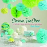 Papier Pom Poms, Paula Pascual isbn:978.90.453.2096.0 Paperback 21cm