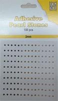 Nellie's Adhesive Pearl Stones 2mm APS206 Lila 150stuks/2mm