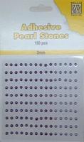 Nellie's Adhesive Pearl Stones 3mm APS306 Lila 150stuks/3mm