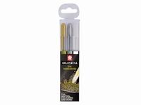 Sakura POXPGBMIX3A Gelly Roll pens set goud, zilver, wit