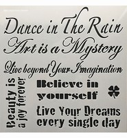 Stencil 12inch Dance in the Rain Powertex 0508