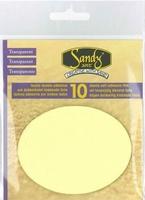 Sandy Art dubbelzijdig motief 1.0117 Ovaal 8,5 x 6,5cm (10x)