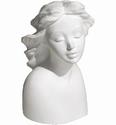 European woman Marjani  0196 porseleingips 10,5x6cm