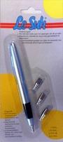 Embossing pen metaal met 4 embossing tools LeSuh570707
