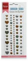 Marianne Design Enamel dots PL4510 Gold Silver