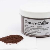 Pavercolor bruin groot 240 ml