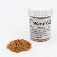 Pavercolor roest art. 36 (voorheen mosterd) 40 ml