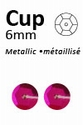 Pailletten Pink metallic facon 6mm art. 307