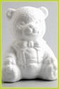Styropor beer zittend groot 16 cm