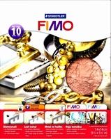 NIEUW Fimo bladmetaal Koper, Staedtler 8781-26 10vel/14x14cm
