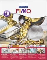 NIEUW Fimo bladmetaal Zilver, Staedtler 8781-81 10vel/14x14cm