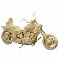 Pebaro houten bouwpakket PB0868/2 Harley Davidson 30x18cm
