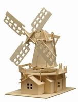 Pebaro houten bouwpakket PB0873 Windmolen 38x25cm