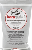 Keraquick gietpoeder wit art.  2160300 1 kilo