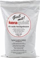 Keraquick gietpoeder wit art. 2160305 5 kilo