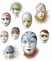 Gietvorm Knorr Prandell 2713.050: mini maskers 4 tot 8cm