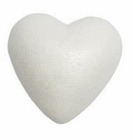 Styropor hart 9cm/4stuks vlakke achterkant RICO08797.10.61 9cm/4stuks half