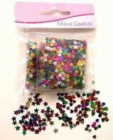 Confetti H&C1010-3148/STV3148 Hartjes en sterretjes