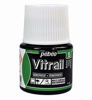 Pebeo glasverf Vitrail 15 Transparant Black 45ml