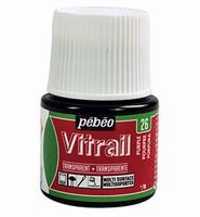 Pebeo glasverf Vitrail 26 Transparant Purple 45ml