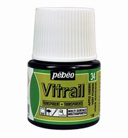 Pebeo glasverf Vitrail 34 Transparant - Apple Green