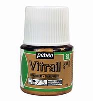 Pebeo glasverf Vitrail 38 Transparant - Gold
