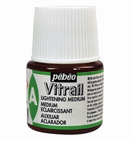 Pebeo glasverf Vitrail Medium - Lightening flacon 45ml