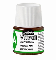 Pebeo glasverf Vitrail Medium - Matt Medium flacon 45ml