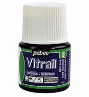 Pebeo glasverf Vitrail 10 Transparent - Deep Blue 45ml