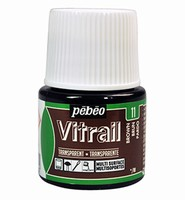 Pebeo glasverf Vitrail 11 Transparent - Brown
