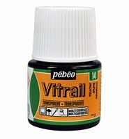 Pebeo glasverf Vitrail 14 Transparent - Yellow 45ml