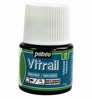Pebeo glasverf Vitrail 17 Transparent - Turquoise
