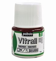 Pebeo glasverf Vitrail 20 Transparent - White 45ml