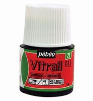 Pebeo glasverf Vitrail 21 Transparent - Pink 45ml