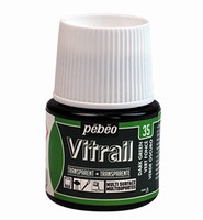 Pebeo glasverf Vitrail 35 Transparent - Dark Green