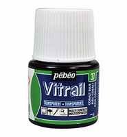Pebeo glasverf Vitrail 37 Transparent - Cobalt Blue