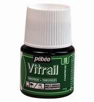 Pebeo glasverf Vitrail 18 Transparant Chartreuse 45ml