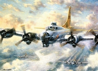 Painting by numbers R&L PAL21-3T Flying Fortress 27,5x35cm